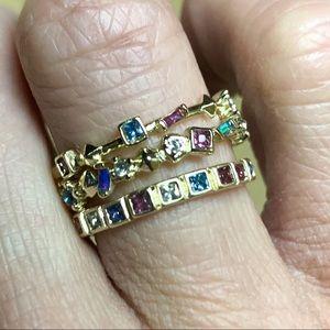 Kendra Scott stackable gemstones ring
